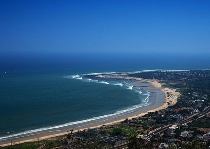 Vizag Beach View